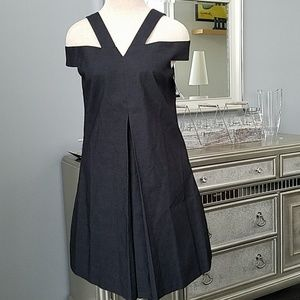 LAUNDRY by Sheli Segal Black A-Line Dress NEW